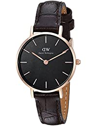 27aabcb07f3c Daniel Wellington Classic Petite Analog Black Dial Women s Watch-DW00100226