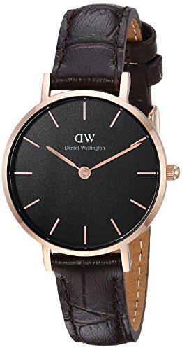 Daniel Wellington Women's Analogue Quartz Watch with Leather Strap DW00100226
