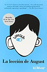 La Leccion de August: Wonder (Spanish-Langugae Edition) by R J Palacio (2014-04-06)
