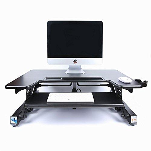 Elektrischer Aufzug-Computer-Schreibtisch-Standboden Büro-Justierbarer Beweglicher Anhebender Zusammenklappbarer Tisch (Elektrischer Ebene)