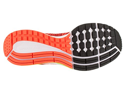 Nike Wmns Air Zoom Pegasus 32 Print, Chaussures de Running Entrainement Femme Naranja (Hyper Orange / Volt-Unvrsty Red)