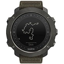 Suunto - Traverse Alpha - SS022292000 - Reloj GPS Outdoor para pesca, caza y excursionismo - Sumergible - Foliage (Verde follaje) - Talla única