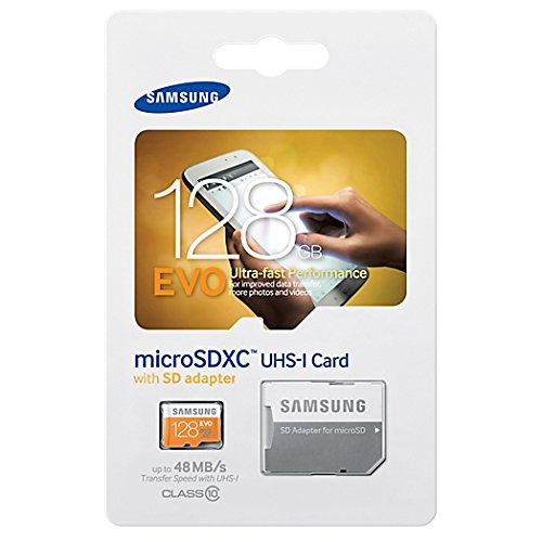 Gebraucht, Samsung Micro SDXC 128GB EVO UHS-I Grade 1 Class 10 gebraucht kaufen  Wird an jeden Ort in Deutschland