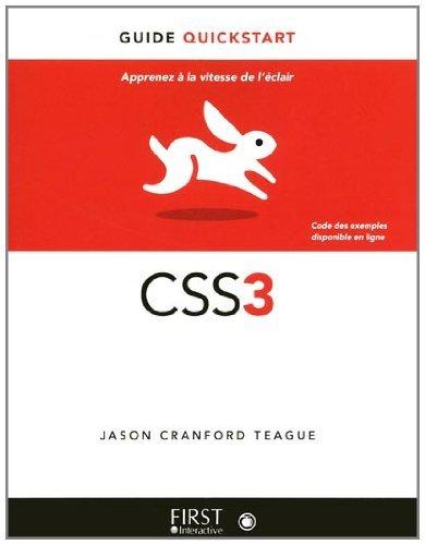 Livres gratuits CSS3 Le guide Quickstart epub pdf