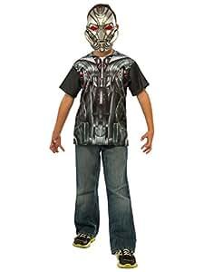 Ultron–Accessoire pour homme Kit, enfant Avengers Age de Ultron Tenue, Taille M, âge 5–7
