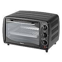 Elgento E14026 Mini Oven, 60-Minute Timer, 800 W, 16 L - Black