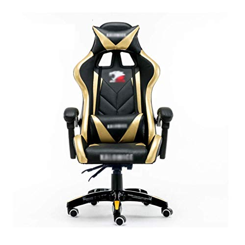 MJ-Office Chair Massage Gaming Stuhl High-Back-Bürostuhl Recliner Computer Stuhl Höhenverstellbar Drehbarer Schreibtischstuhl Schreibtischstuhl - Office Massage Chair