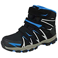 Young Spirit Boys Girls Kids Junior 894303 Triple Touch Close Straps Thermal Fleece Willow Tex Outdoor Wellington Rain Winter Snow Boots Size 12.5-6