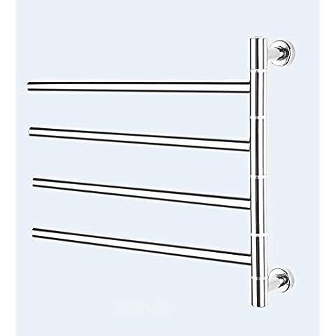Tipo d'attaccatura di parete portasciugamani, bagno asciugamano e vestiti di essiccazione elettrico di riscaldamento elettrico vestiti a rack , light