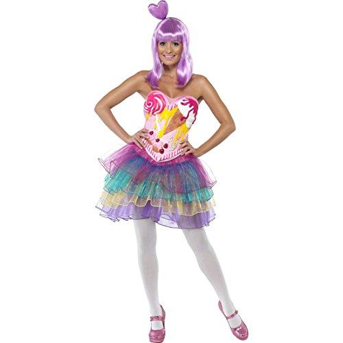 Karneval Kostüm Damen Candy - NET TOYS Candy Girl Kostüm Popstar