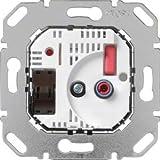 Hager RT-Regler Einsatz WUC73 24V DC,Schalt.u.LED Raumthermostat 3250617020664