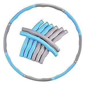 Ever Rich® fitnesswave beschwert 1,2kg Fitness Hula Hoop