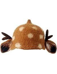 HLCE Cappello Donna Cappello Fatto a mano con feltro Foresta Elk Elf  Cappello Arte Temperamento Cappello Donna Regalo Autunno e… 6293c9121e75