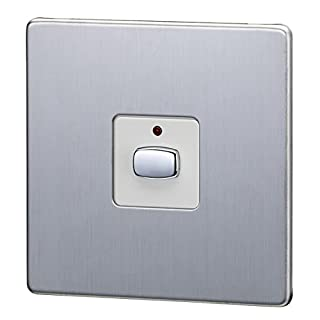 Energenie MIHO026 Mi|Home Smart Single Light Switch (Steel)