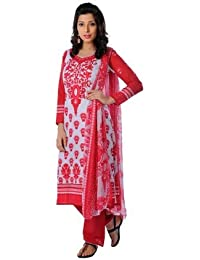 Zoha Sakhi Printed French Crepe Dress