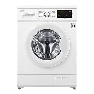 LG-Washing-Machine-FH2J3WDN0-Front-loading-Washing-capacity-65-kg-1200-RPM-Direct-drive-A-Depth-44-cm-Width-60-cm-White-LED
