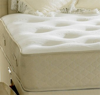 Happy Beds Clifton Royal Mattress Pocket Sprung Orthopaedic Bedroom Comfort 5' King Size 150 x 200 cm - low-cost UK light shop.