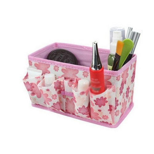 sodialr-folding-multifunction-make-up-cosmetic-storage-box-container-bag-case-fashion-pink