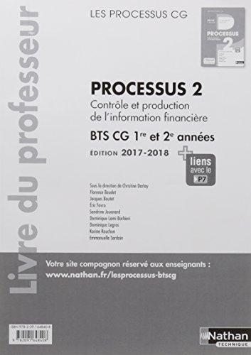 Processus 2 BTS CG 1ere et 2eme années (les processus cg) : Livre professeur