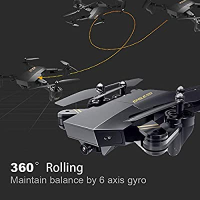 Springdoit 2.4Ghz 720P four-axis aircraft, wifi fixed height 720P camera 6-axis gyroscope drone professional aerial photography