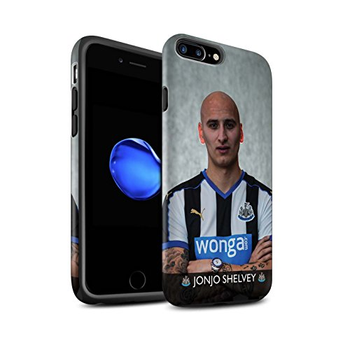 Offiziell Newcastle United FC Hülle / Matte Harten Stoßfest Case für Apple iPhone 7 Plus / Ayoze Muster / NUFC Fussballspieler 15/16 Kollektion Shelvey