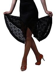 DESY Bas Robes et Jupes Jupes(Noire,Fibre de Lait,Danse latine Spectacle Salle de bal Samba Jazz)Danse latine Spectacle Salle de bal Samba Jazz