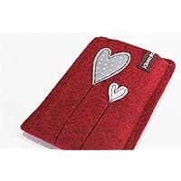 Handytasche - Handyhülle - Samsung Galaxy S8 - aus hochwertigem Wollfilz - Schutz vor Kratzern & Schmutz