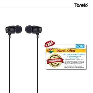 "Toreto Metal Bass Wired Earphone-TOR 256""Fusion 2"""