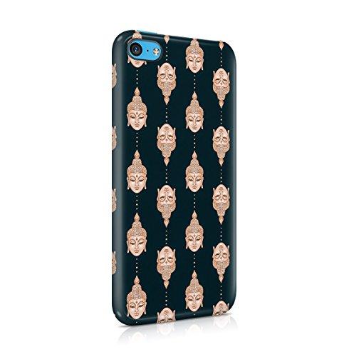 Buddha, Hamsa, Ganesh, Mandala Hindu Pattern Apple iPhone 5 , iPhone 5S , iPhone SE Snap-On Hard Plastic Protective Shell Case Cover Custodia Buddha