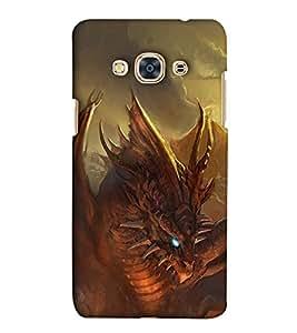 EagleHawk Designer 3D Printed Back Cover for Samsung Galaxy J3 Pro - D993 :: Perfect Fit Designer Hard Case