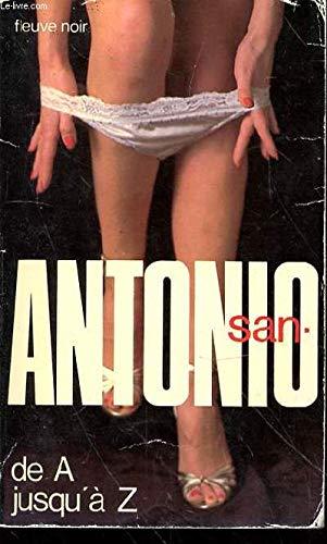 De A Jusqu'à Z par San-Antonio