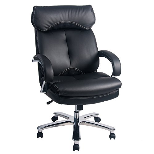leben-carver-big-tall-luxus-schwarz-gepolsterter-pu-leder-executive-home-office-stuhl-400-lb-kapazit