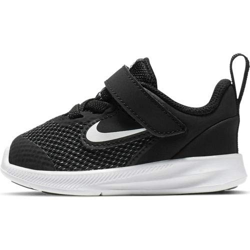 Nike Unisex Baby Downshifter 9 (TDV) Niedrige Hausschuhe, Schwarz (Black/White/Anthracite/Cool Grey 000), 22 EU