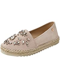 Metallic Ladies Shoes, Alpargatas para Mujer, Rosa (Nude Nude), 39 EU Xti