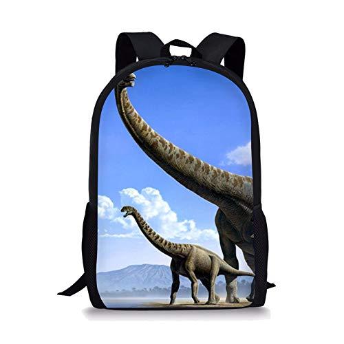 POLERO Dinosaurier Dino Vorschulrucksack für Kinder Jungen Kleinkind Rucksack Kindergarten Schule Bookbags (A. Fragillimus) -