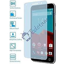 Protector de Pantalla Cristal Templado Vidrio 9H para Vodafone Smart ultra 6