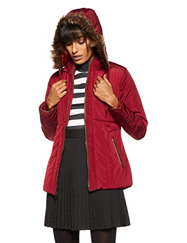 Fort Collins Women's Jacket (110 FC_Maroon_X-Large)