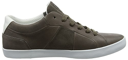 Geox U Smart B, Baskets Basses Pour Homme, Brun (anthracite)