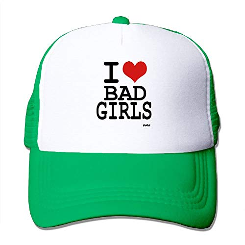 Love Bad Girls by WAM Big Foam Caps Mesh Back Cap (Big Wolf Bad Hat)