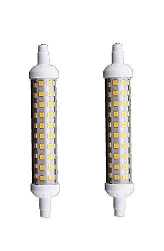 Lampadina led smd r7s 12 watt lampada fari luce naturale 4000k 220v 1200 Lumen [2 Pezzi]