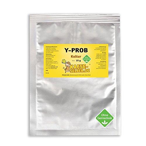 Y-PROB Joghurtkulturen 15g probiotisch, Joghurt selber machen, Joghurtkultur, Ferment