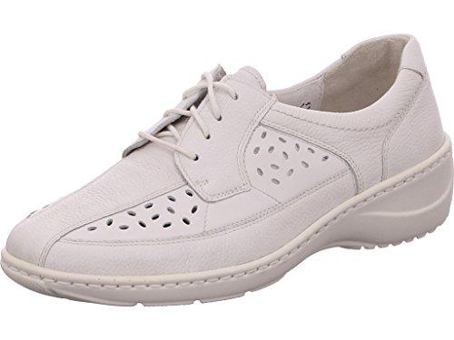 Waldläufer  607003-244-148 Kya, Chaussures de ville à lacets pour femme Weiß