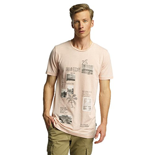 Jack & Jones Herren Oberteile / T-Shirt jorRock Pink
