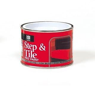 Able & Handy 91467 180ml Step & Tile Red Paint (DGN), Multi-Colour