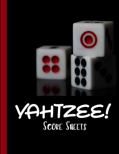 "YAHTZEE  Score Sheets: Game Yahtzee |Travel Yahtzee Game| Yahtzee Game Record Score Keeper Book |Easy to use, Fun for Everyone, / 8.5""x11"" ,120 pages: Volume 2 por Oryzastore Publishing"