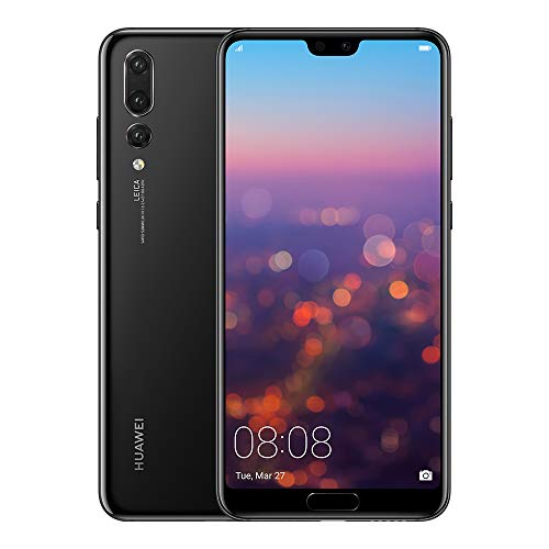 "Foto Huawei P20 Pro Single Sim 4G 128Gb Nero - Smartphones 15.5 cm6.1"", 128 Gb, 40 Mp, Android, 8.1, Nero"
