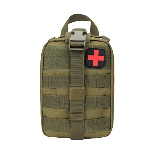 CHANNIKO-DE Outdoor Tactical Medical Bag Travel First Aid Kit Multifunctional Waist Pack Camping Climbing Bag Emergency Case Survival Kit - Survival Kit Case