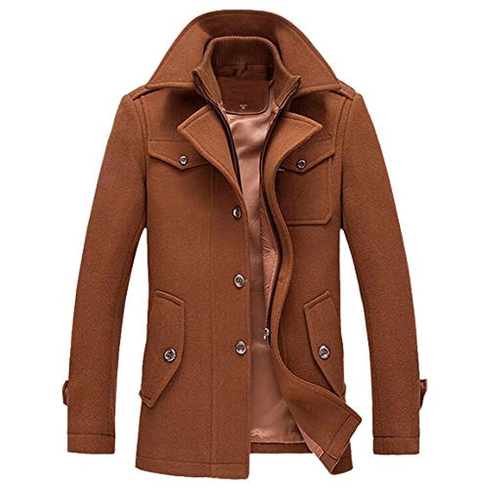 Куртки Männer Business Mantel Mann Herbst Winter Fit Mantel Casual Wolle Trenchcoat Mode Lange Verdicken Schlank Mantel Jacke Mit Taschen Moonuy