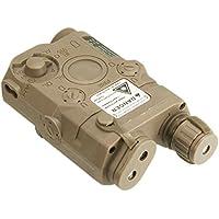 PEQ-15 Dummy Airsoft AEG RIS Montura Bater?a Case (DE) - AirsoftGoGo Llavero Incluido
