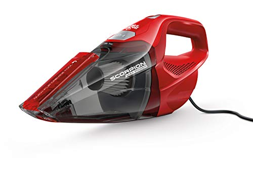 Dirt Devil SD20005RED Scorpion Quick Flip Corded Bagless Handheld Vacuum, Red by Dirt Devil